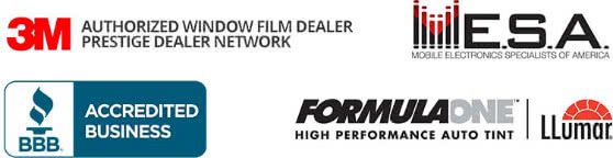 Authorized dealer for 3M window films, Suntek PPF, Formula One Window Tint Films.